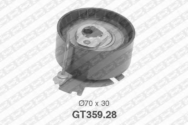 GT35928 Натяжитель ремня ГРМ PEUGEOT 207/307/PARTNER/CITROEN C3 1.6