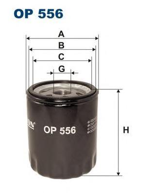 OP556 Фильтр масляный BMW E30/E28
