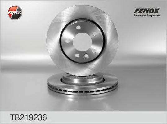 TB219236 Диск тормозной VW MULTIVAN V/TRANSPORTER V 03- задний D=294мм.
