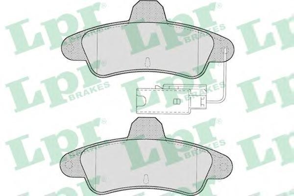 05P716 Колодки тормозные FORD MONDEO 1.6-2.5 93-00 задние с датч.