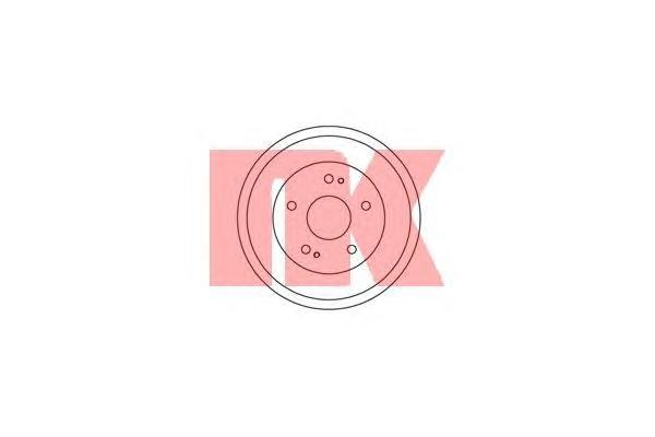 252606 Барабан тормозн CR-V 95-/HR-V 99- (DB4223)