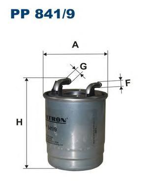 PP8419 Фильтр топливный MB SPRINTER 906 OM651/642 06-
