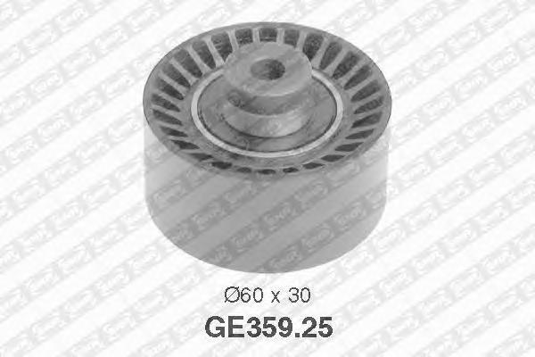 GE35925 Ролик промежуточный ремня ГРМ CITROEN: BERLINGO 08-, BERLINGO 96-, BERLINGO 08-, BERLINGO 96-, C2 03-, C3 02-, C3 Plurie