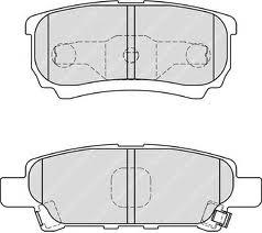 D6124 Колодки тормозные MITSUBISHI LANCER IX 03OUTLANDER 0308 задние