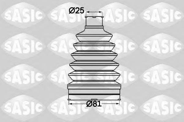 1904012 Пыльник ШРУСа RENAULT SANDERO/LOGAN 04- нар.