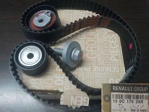 130C17529R Ремень ГРМ К4М K4J +2 ролика