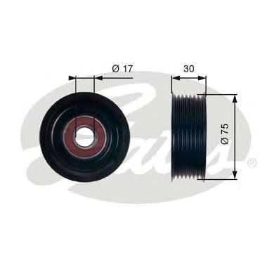 T36320 Ролик ремня приводного HONDA ACCORD 2.4/CIVIC 2.0 01-