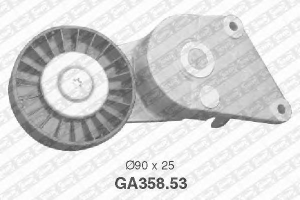 GA35853 Натяжитель ремня приводного PEUGEOT 306/406 1.8/2.0
