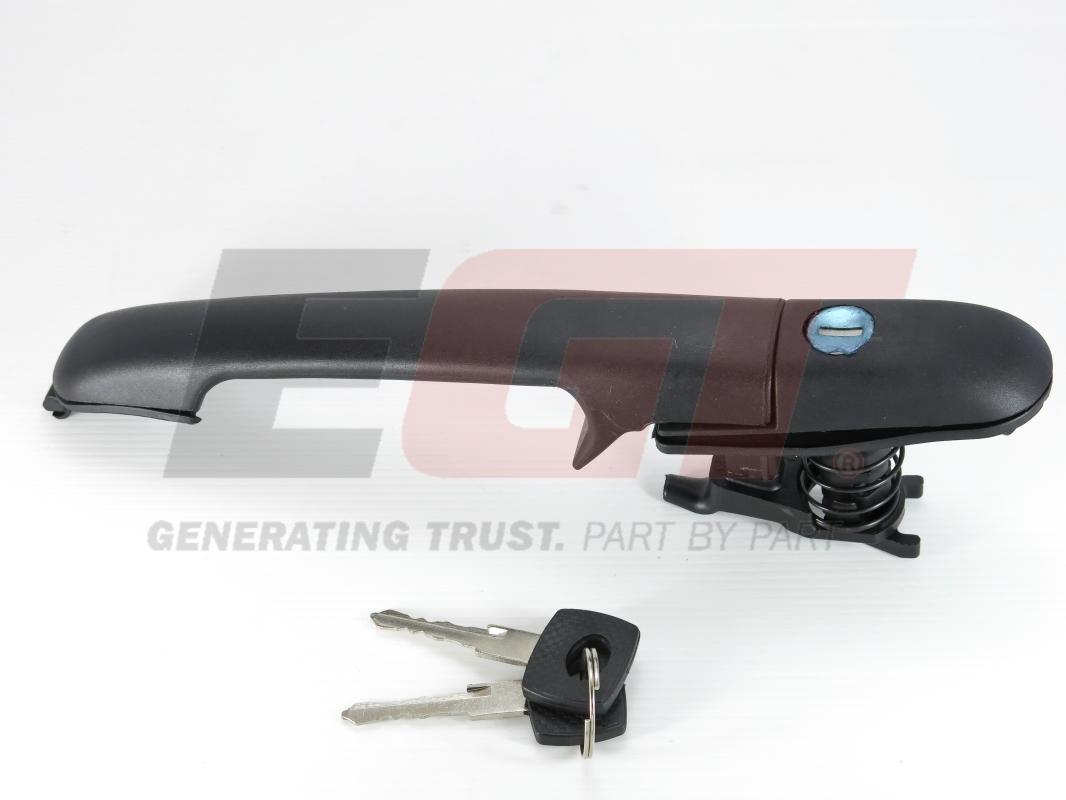510066egt Ручка двери с замком c ключом