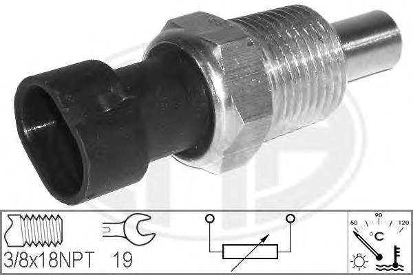 330117 Датчик температуры охлаждающей жидкости DAEWOO: ESPERO (KLEJ) 1.8/2.0 91-99 LANCIA: DELTA I (831AB0) 1.6 GT i.e. (831AB.0