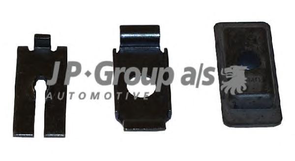 1170250210 К-т монтажный троса сцепления / VW Caddy-I,Golf-I/II,Jetta-I/II 74~