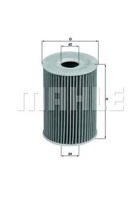 OX415D Фильтр масляный NISSAN PATROL/TERRANO II 3.0 D/OPEL/RENAULT