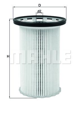 KX342 Фильтр топливный AUDI Q3/VW PASSAT/SHARAN 1.6D/2.0D 07-