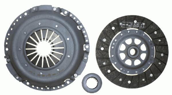 3000387101 Сцепление к-т AUDI 100/A4/A6/A8/VW PASSAT 2.3-2.8 90-05 -W#240000