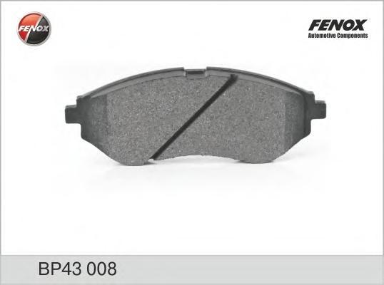 BP43008 Колодки тормозные CHEVROLET AVEO 1.2-1.4 06- передние