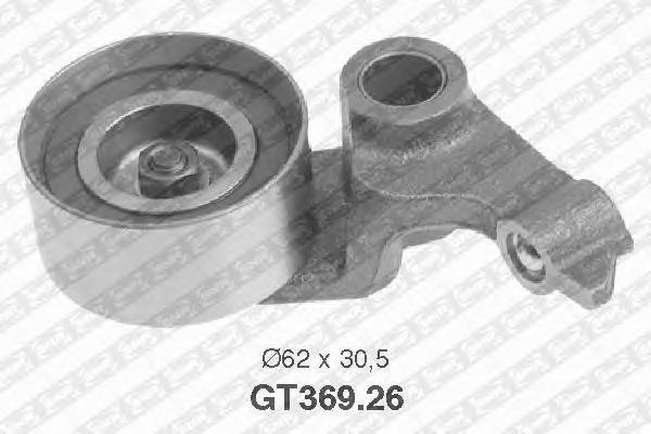 GT36926 Деталь GT369.26_pолик натяжной pемня ГPМ
