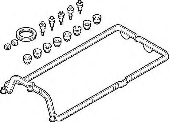 725330 Прокладка клапанной крышки BMW N62 1-4 цил. компл.