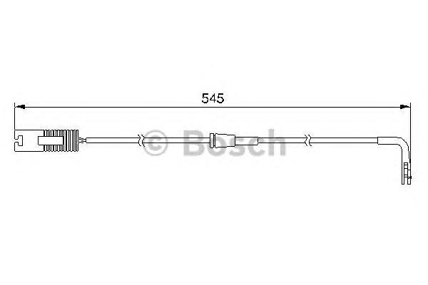 1987474940 Датчик износа торм.колодок BMW E39