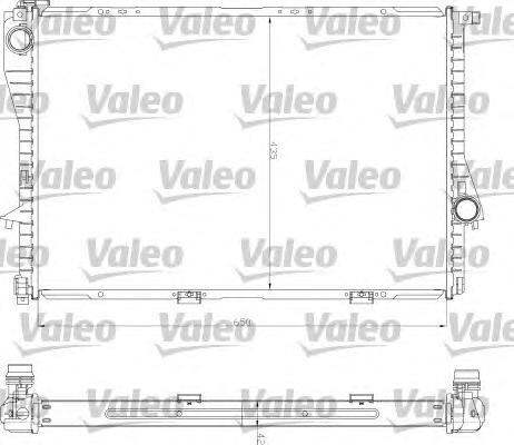 734277 Радиатор системы охлаждения BMW: 5 (E39) 520 i/523 i/525 i/528 i/530 i/535 i/540 i 95-03, 5 Touring (E39) 520 i/523 i/525