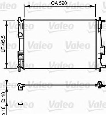 735119 Радиатор системы охлаждения NISSAN: QASHQAI (J10, JJ10) 1.6 07-