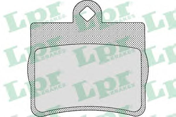 05P725 Колодки тормозные дисковые задн MERCEDES-BENZ: C-CLASS 93-00, C-CLASS универсал 96-01