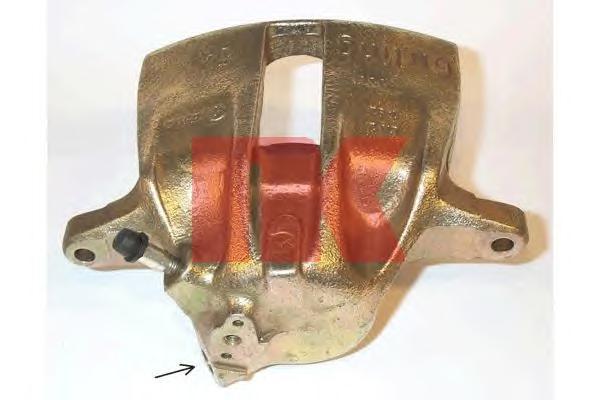 214771 Суппорт передний / AUDI 80/90-правый,100/200-левый + Quattro вентилир. диск (GIRLING) 83 - 96