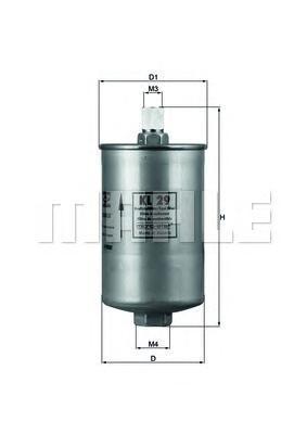 KL29 Фильтp топливный