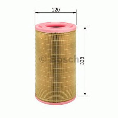F026400024 Фильтр воздушный MB W203 200/220CDI