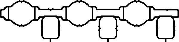 574120 Прокладка, впускной коллектор