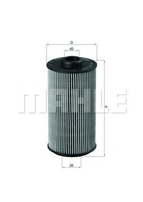 OX1521D Фильтр масляный BMW E32/E34/E38/E39/X5 (E53) 3.0-5.0