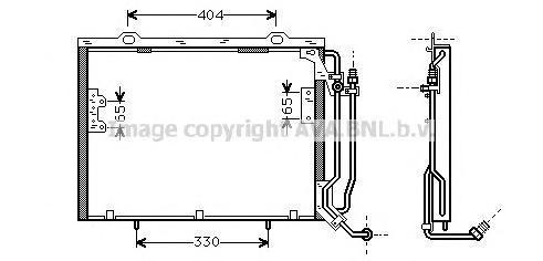 MSA5279 Конденсер MB W202 2.0-2.2CDi 97-01