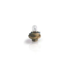 12627CP Лампа BAX 12V 1.5W BX8.4d beige