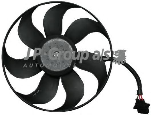 1199101500 Вентилятор радиатора (300/60Watt- 345mm) / AUDI, SEAT, VW 1.6-3.2  96~