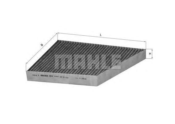 LAK156 Фильтр салона MB W211/C219 угольный