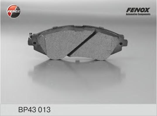 BP43013 Колодки тормозные CHEVROLET LANOS/LACETTI/REZZO/DAEWOO NEXIA/NUBIRA/LEGANZA пер.