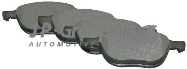 1563600110 Колодки тормозные дисковые передние / FORD Focus C-MAX 1.6-2.0; Focus-II; MAZDA-3/5,VOLVO C30/S40/V50 (без датчиков)