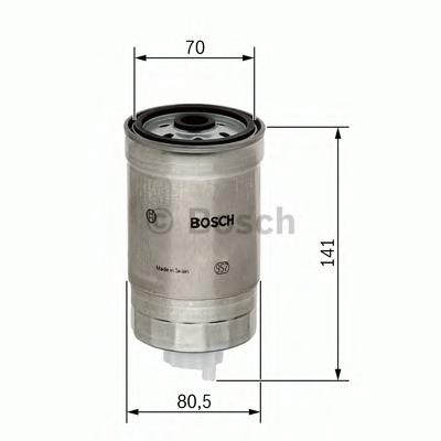 1457434511 Фильтр топливный KIA/HYUNDAI 1.1D-2.5D 03-