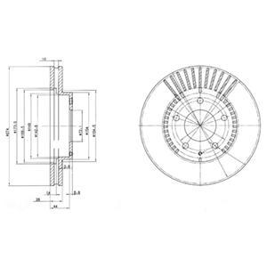 BG3232 Тормозной диск 2шт в упаковке