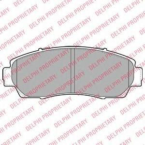LP2046 Колодки тормозные HONDA CR-V 2.0-2.2 07- передние