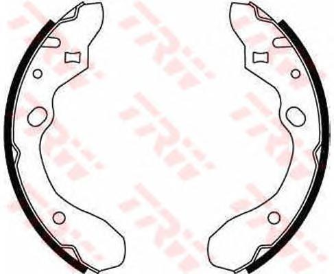 GS8582 Колодки торм.бар.MAZDA 323 89-98 (200x35)