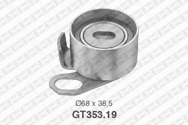 GT35319 Деталь GT353.19_pолик натяжной pемня ГPМ