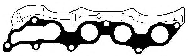 13191800 Прокладка вып.колл FORD FOCUS/MONDEO/MAZDA/VOLVO S40/S80/V70 1.8/2.0/2,3/2,5 00-