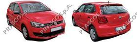 VW0231061 Бампер задний грунтованный (для а/м с парктроником)  / VW Polo 10~