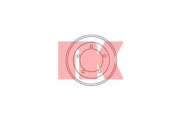 262510 Барабан тормозной FORD TRANSIT 2.0D/2.2D/2.3 00