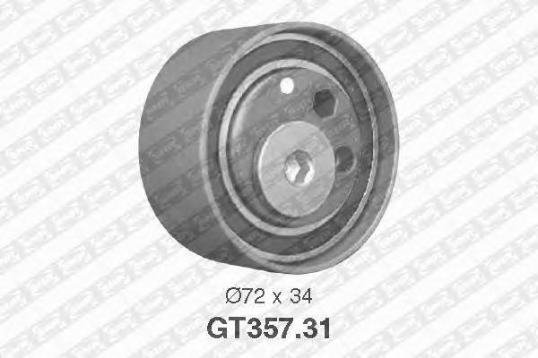 GT35731 Ролик ремня ГРМ AUDI A4/A6/VW PASSAT 2.5D 97-