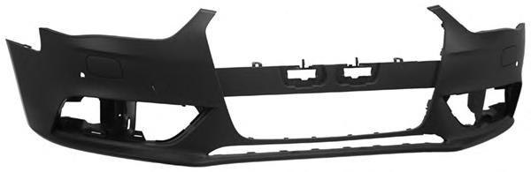 A412234 Бампер передн грунт с парктрон и омыват AUDI: A4 12-