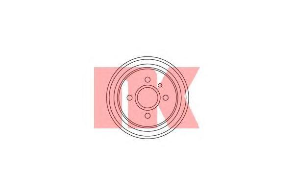 253605 Барабан тормозной / OPEL Astra F, Kadett 1.0-1.6 (200X38.0)  79~98