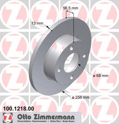 100121800 Тормозной диск