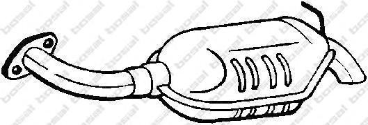 171019 Глушитель MAZDA 6 2.0-2.3 02-