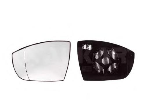 6411134 Стекло зеркала левого c подогревом, асферическое
